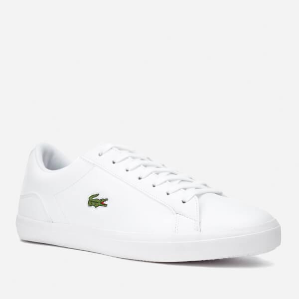 3b5c072e7e8766 Lacoste Men s Lerond Bl 1 Leather Trainers - White  Image 2