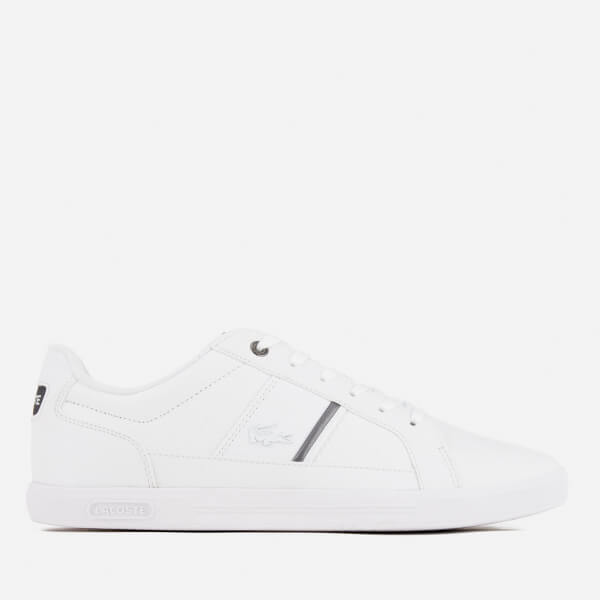 bad8ecf43a1a33 Lacoste Men s Europa 417 1 Trainers - White Mens Footwear