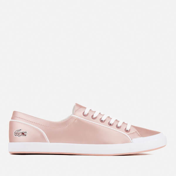 Lacoste Women's Lancelle 6 Eye 117 2 Trainers - Light Pink