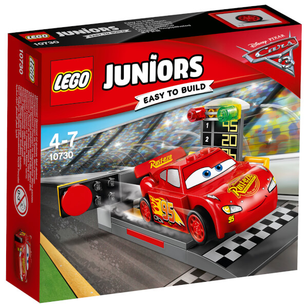 LEGO Juniors: Cars 3 Lightning McQueen Speed Launcher (10730)