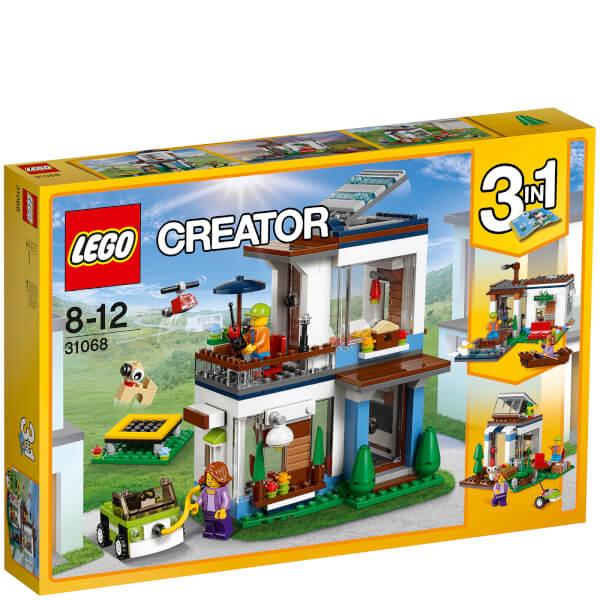 Lego creator modernes zuhause 31068 spielzeug for Modernes lego haus