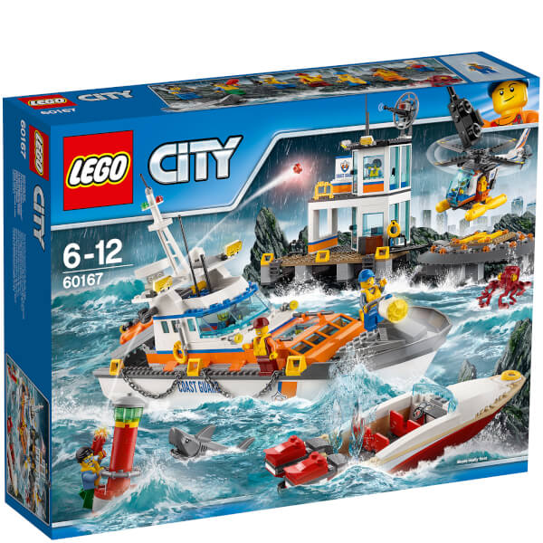 LEGO City: Coast Guard Coast Guard Head Quarters (60167)