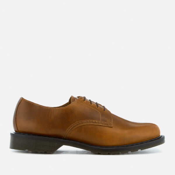 Dr. Martens Men's Oscar Octavius Leather Derby Shoes - Butterscotch - UK 7