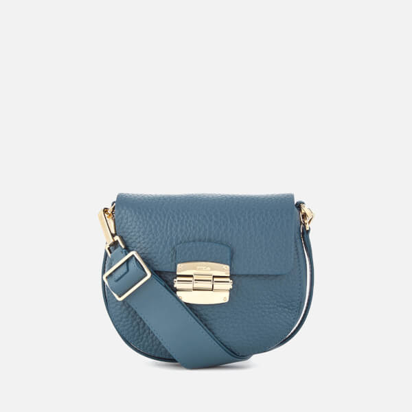 d333427a2616 Furla Women s Club Mini Cross Body Bag - Blue  Image 1