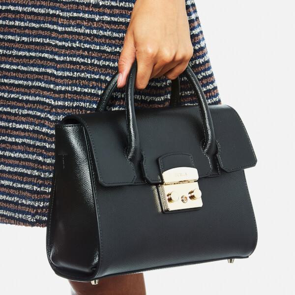 Furla Women s Metropolis Small Satchel Bag - Black  Image 3 c68c4b126