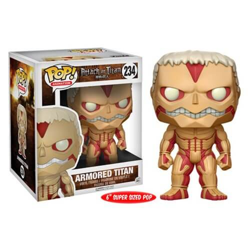 Figurine Funko Pop! L'Attaque des Titans Armored Titan 15cm