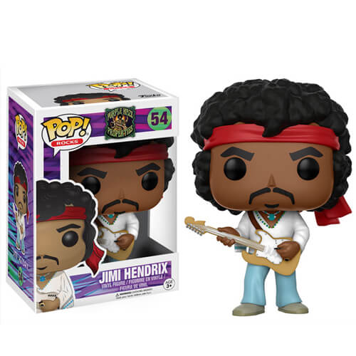 Figurine Jimmy Hendrix Pop! Rocks Funko Pop