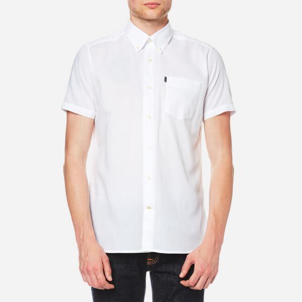 Barbour Men's Casey Short Sleeve Shirt - White