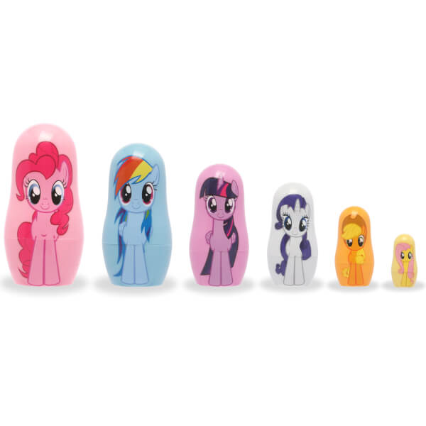 Poupées russes en plastique My Little Pony