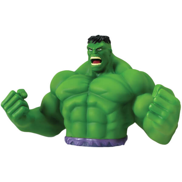 Marvel Bust Coin Bank - Green Hulk