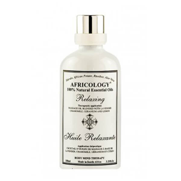 Africology Relaxing Massage Oil 100ml