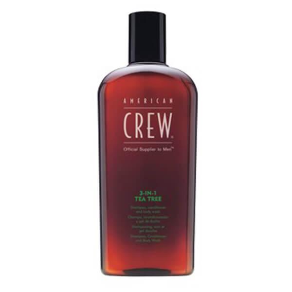 American Crew 3-in-1 Tea Tree Shampoo Conditioner And Body Wash 450ml