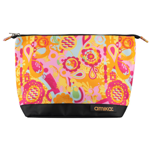 amika Signature Zip Top Beauty Bag