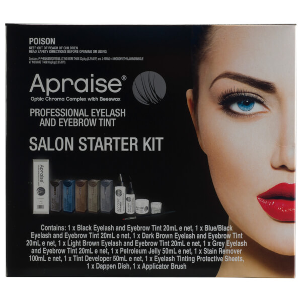 Apraise Professional Eyelash And Eyebrow Tint Salon Starter Kit