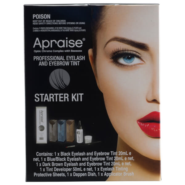 Apraise Professional Eyelash And Eyebrow Tint Starter Kit