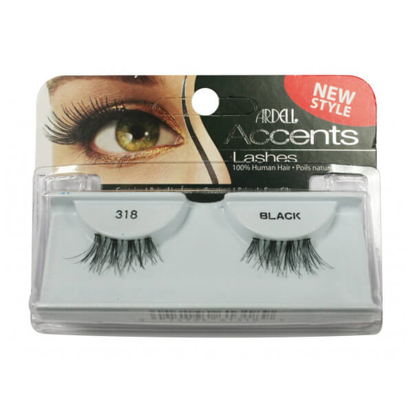 5526296f7e7 Ardell Lashes 318 Accents Black   Buy Online   Mankind
