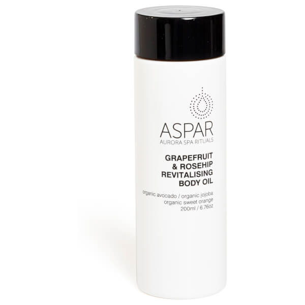 Aspar Grapefruit & Rosehip Revitalising Body Oil