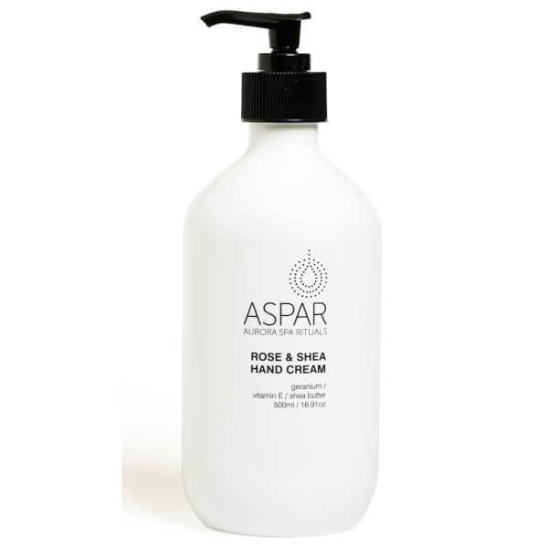 Aspar Rose & Shea Hand Cream 500ml