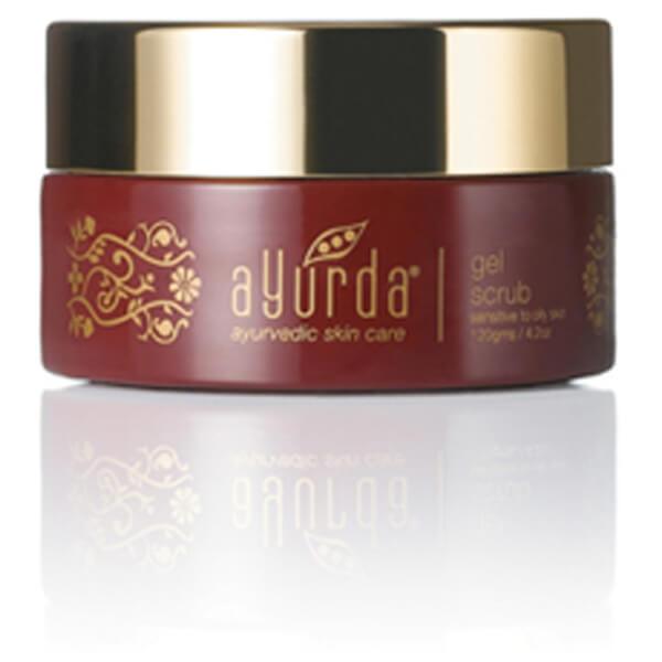 Ayurda Ayurvedic Skincare Gel Scrub For Sensitive Fragile Skin 120g