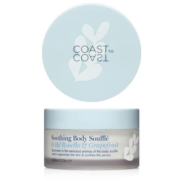 Coast to Coast Coastal Soothing Body Souffle 100ml