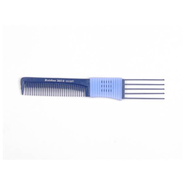 Dateline Plastic 5 Prong Teasing Lifter Comb