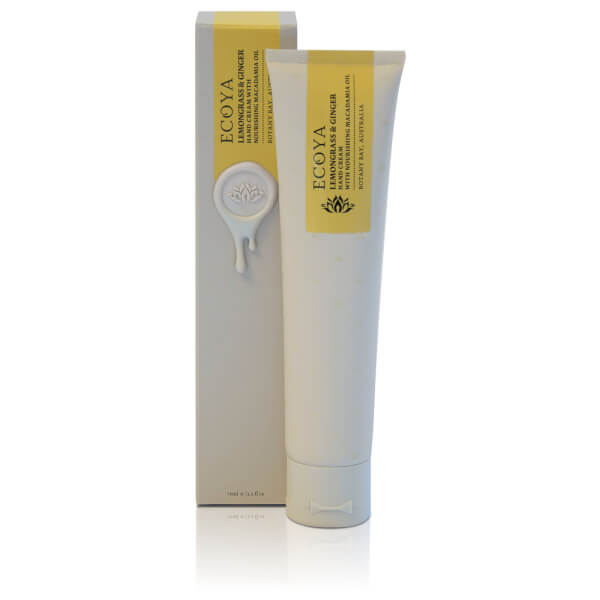 ECOYA Lemongrass And Ginger Hand Cream 75ml