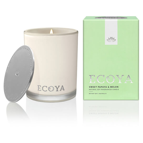 ECOYA Sweet Papaya & Melon Madison Candle - Limited Edition
