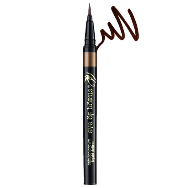 Eye Of Horus Liquid Define Eye Liner - Brown 2g