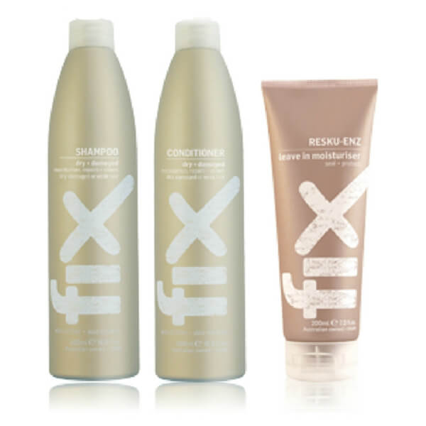FIX Dry/Damaged Shampoo And Conditioner And Bonus Treatment