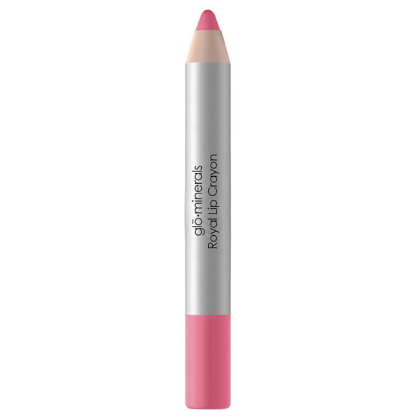 glo minerals Royal Lip Crayon Imperial Pink 2.8gm