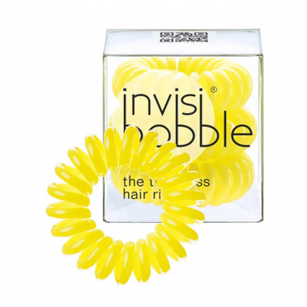 invisibobble The Traceless Hair Ring 3 Pack - Submarine Yellow