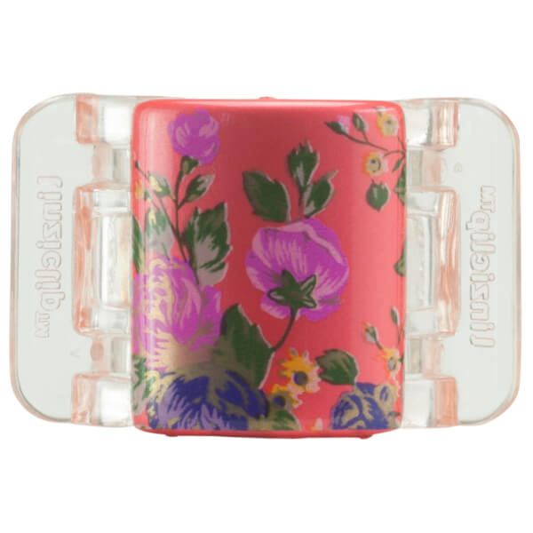 Linziclip Midi Claw Clip - Jazzy Red Bloom