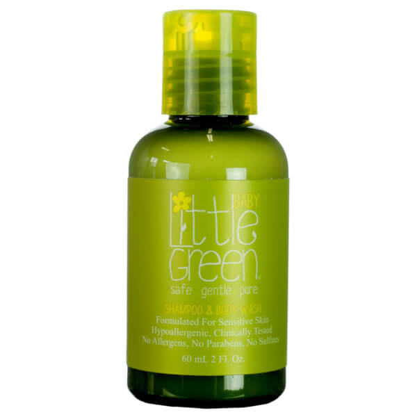 Little Green Baby Shampoo And Body Wash 60ml