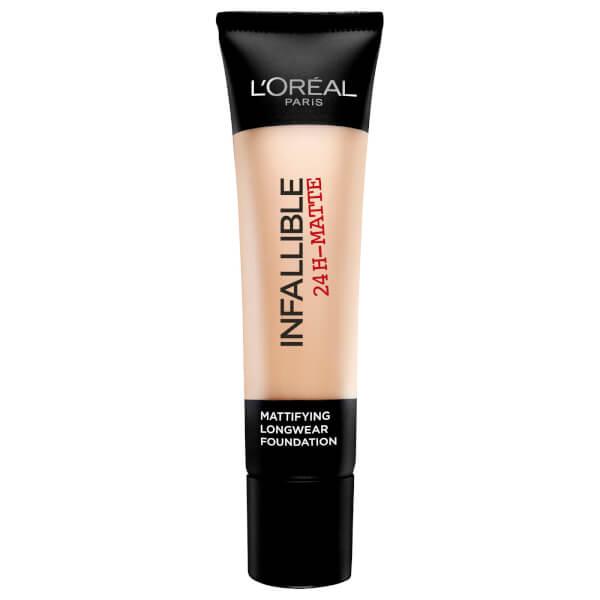 L'Oréal Paris Infallible 24H-Matte Foundation #22 Radiant Beige 35ml