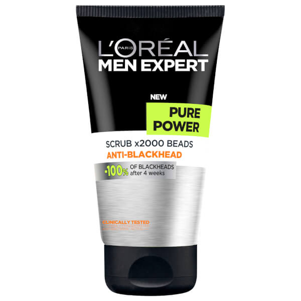 L'Oréal Paris Men Expert Pure Power Anti-Blackhead Scrub 150ml