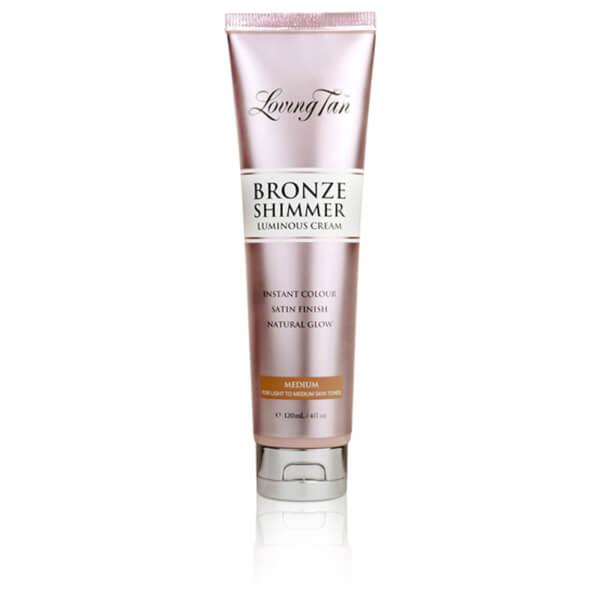 Loving Tan Bronze Shimmer Luminous Cream Instant Colour - Medium 120ml