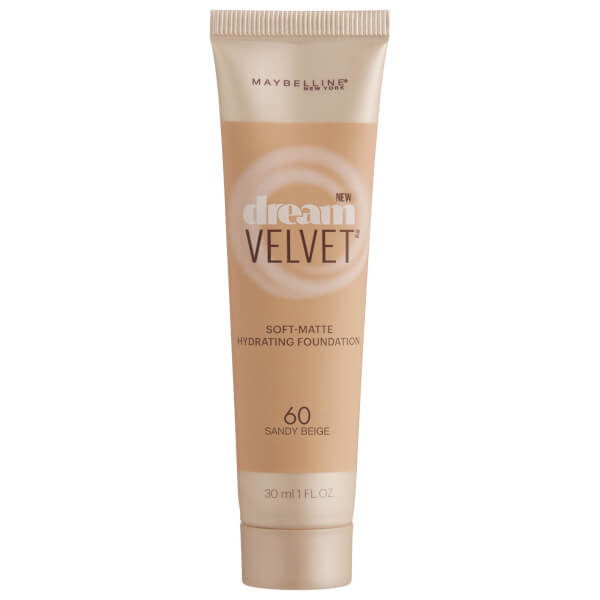 Maybelline Dream Velvet Soft-Matte Hydrating Foundation #60 Sandy Beige 30ml