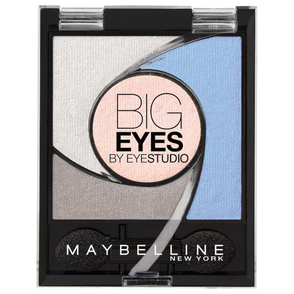 Maybelline Eyestudio Big Eyes Light Catching Eye Shadow Palette #04 Luminous Blue 5.37g