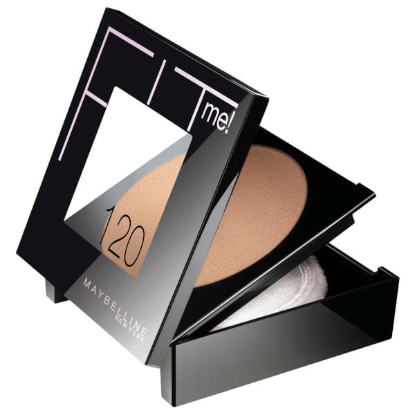 Maybelline Fitme Set + Smooth Pressed Powder #120 Classic Ivory 9g