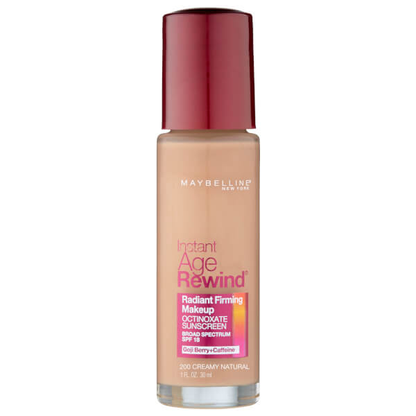 Maybelline Instant Age Rewind Foundation SPF 18 #200 Creamy Natural 30ml