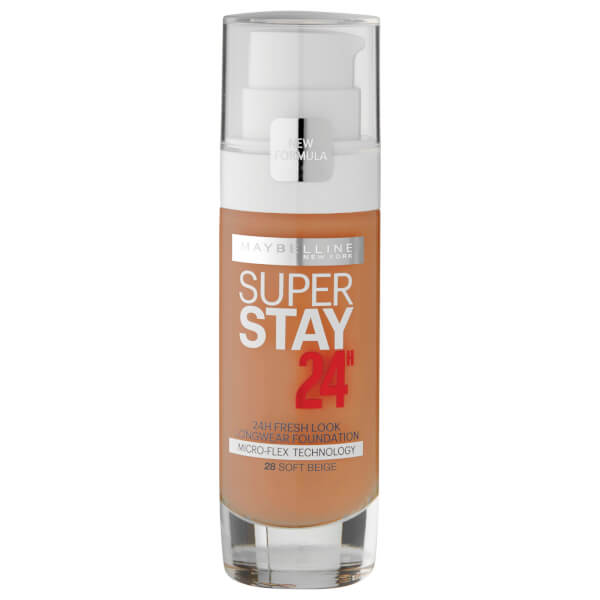 Maybelline Superstay 24hr Foundation #28 Soft Beige 30ml