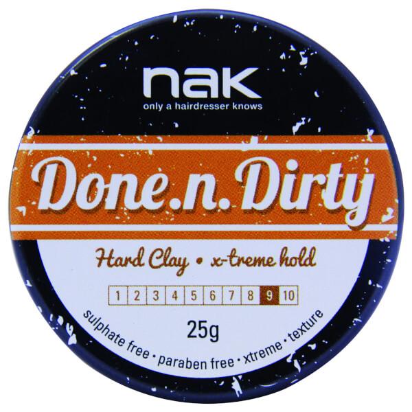 Nak Done N Dirty Hard Clay Travel Size 25g