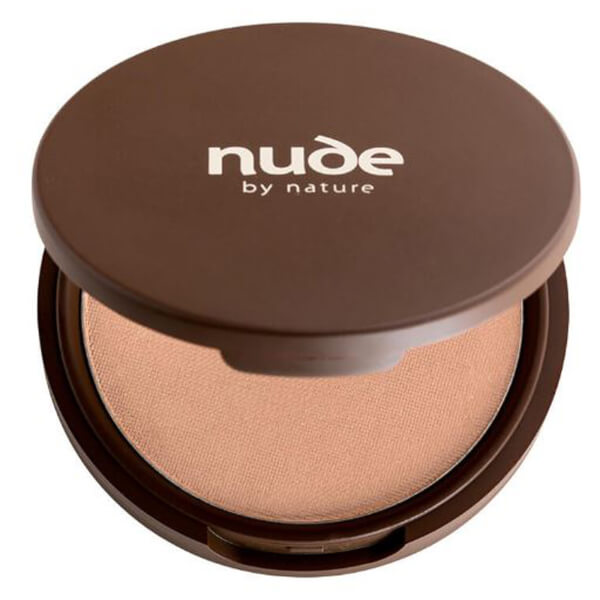 nude by nature Pressed Mineral Cover Foundation - Light/Medium 10g