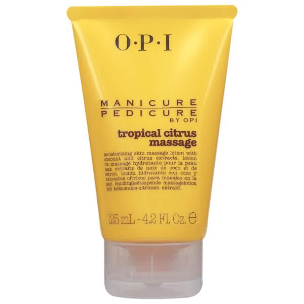 OPI Manicure Pedicure TrOPIcal Citrus Massage Lotion 125ml