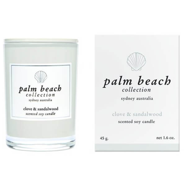 Palm Beach Collection Mini Candle Clove And Sandlewood 45g