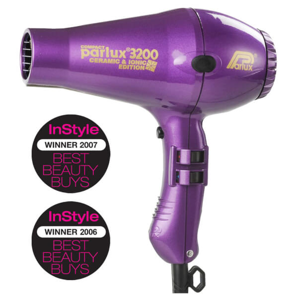 Parlux 3200 Ceramic And Ionic Dryer Purple