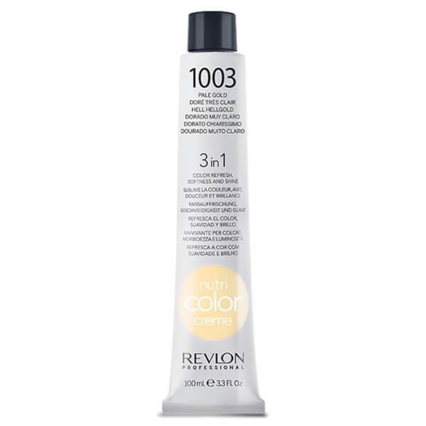 Revlon Professional Nutri Color Creme #1003 Pale Gold 100ml