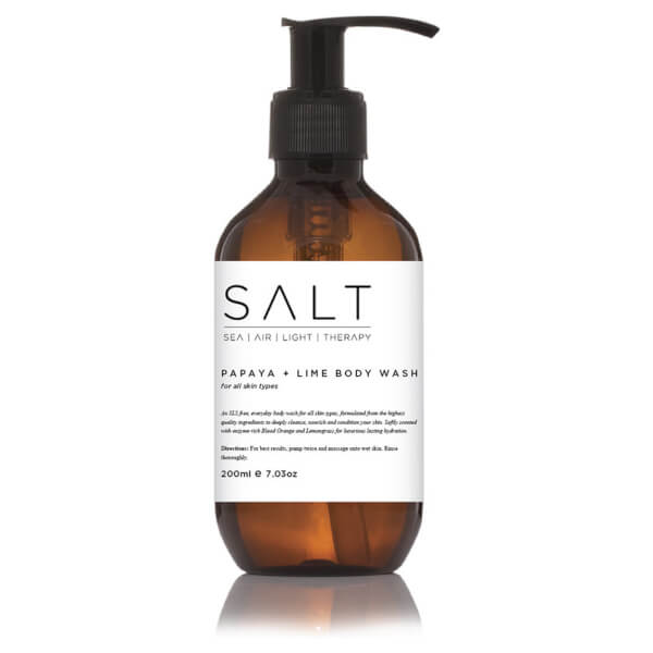 SALT Papaya + Lime Body Wash 200ml