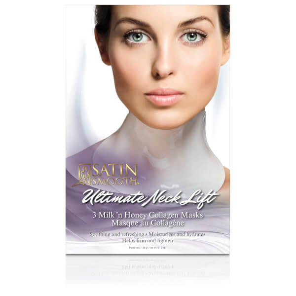 Satin Smooth Ultimate Collagen Neck Lift Masks