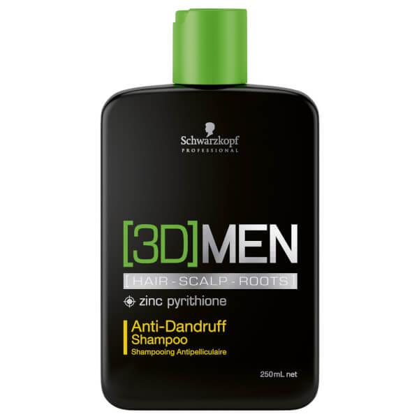 Schwarzkopf [3D] Men Anti-Dandruff Shampoo 250ml